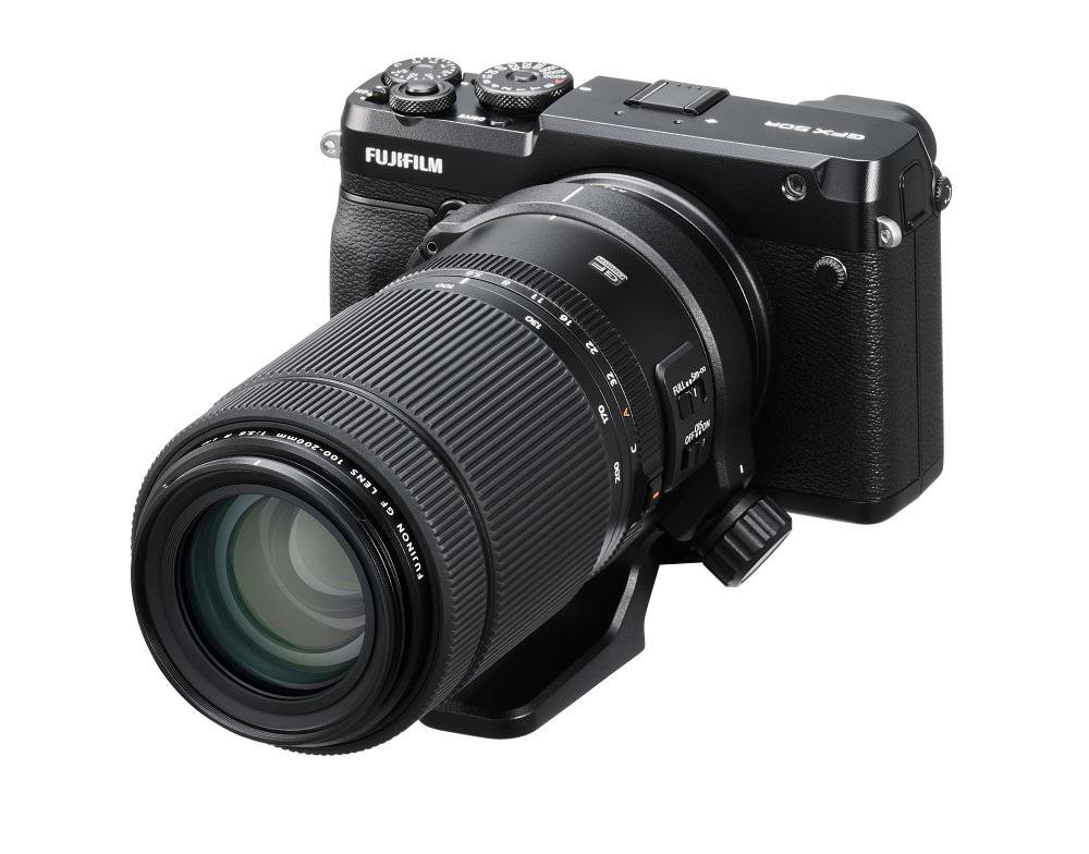 GFX 50R Oblique+GF100 200mm  