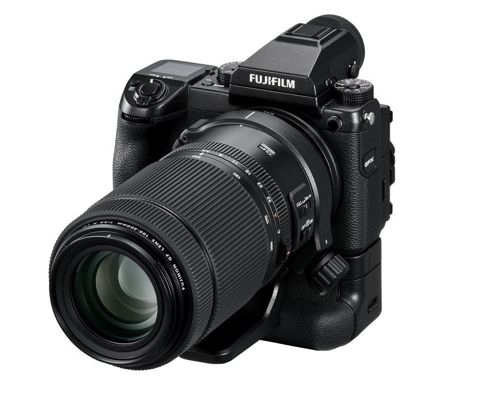 GFX 50S Oblique+GF100 200mm+VG GFX1  