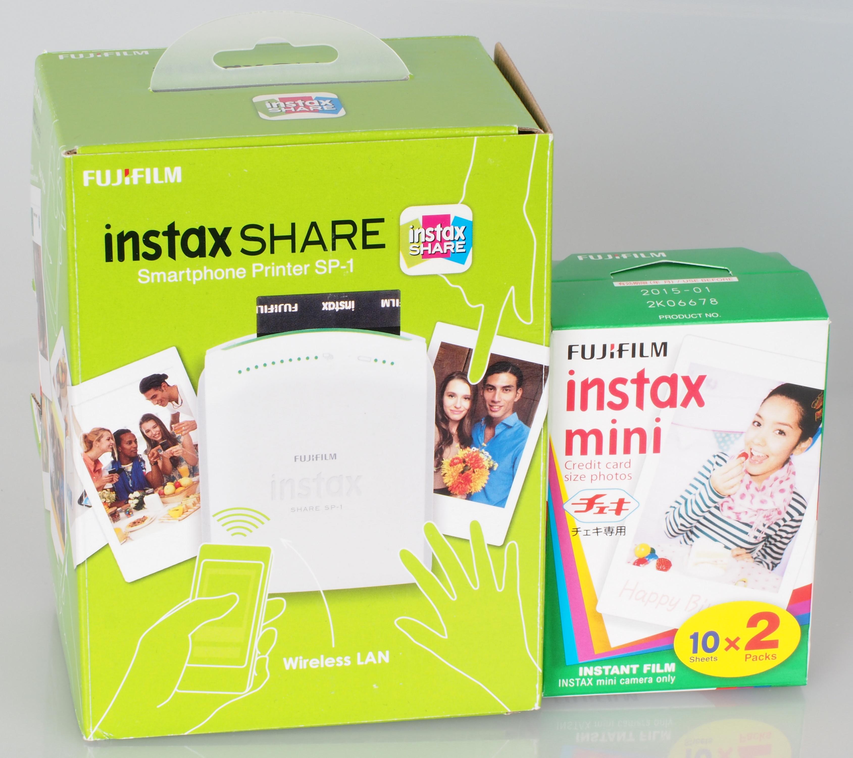 Amazon.com : Fujifilm Instax SP-3 Mobile Printer - White ...