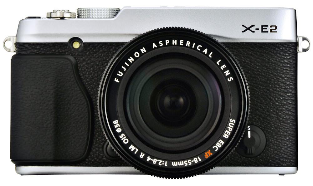 X E2 Silver Front 18 55mm