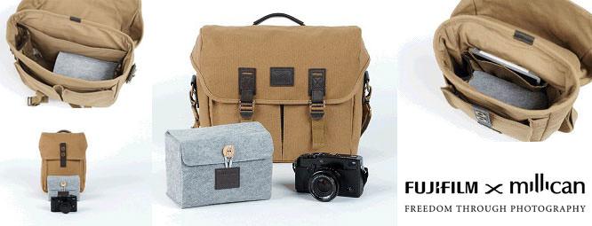 Fujifilm X Millican Camera Bags