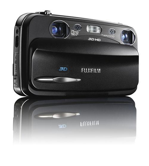 FinePix Real 3D W3 Digital Compact Camera