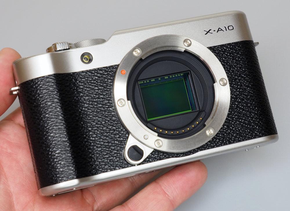 Fujifilm X A10 Black (11)