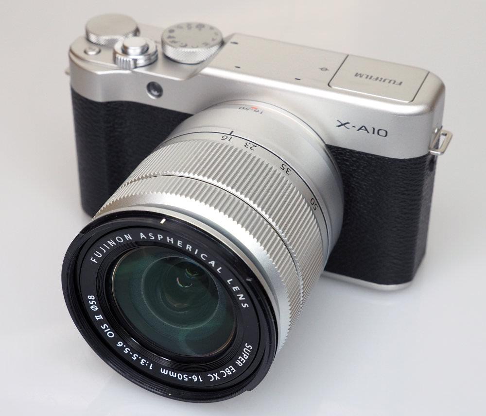 Fujifilm X A10 Black (2)