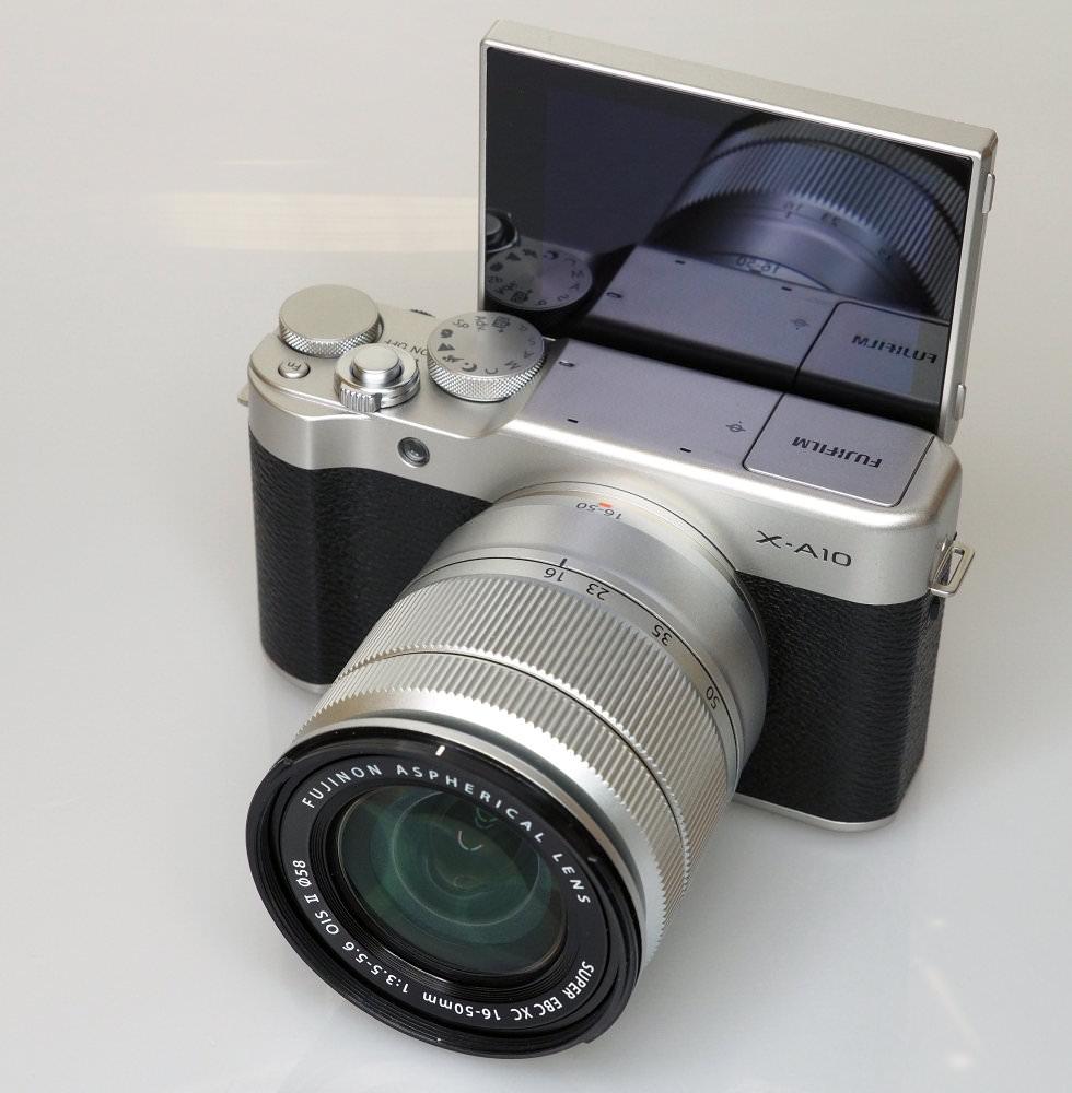 Fujifilm X A10 Black (7)