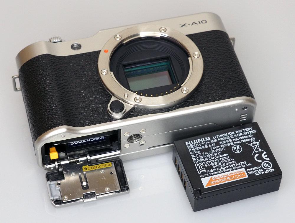 Fujifilm X A10 Black (9)