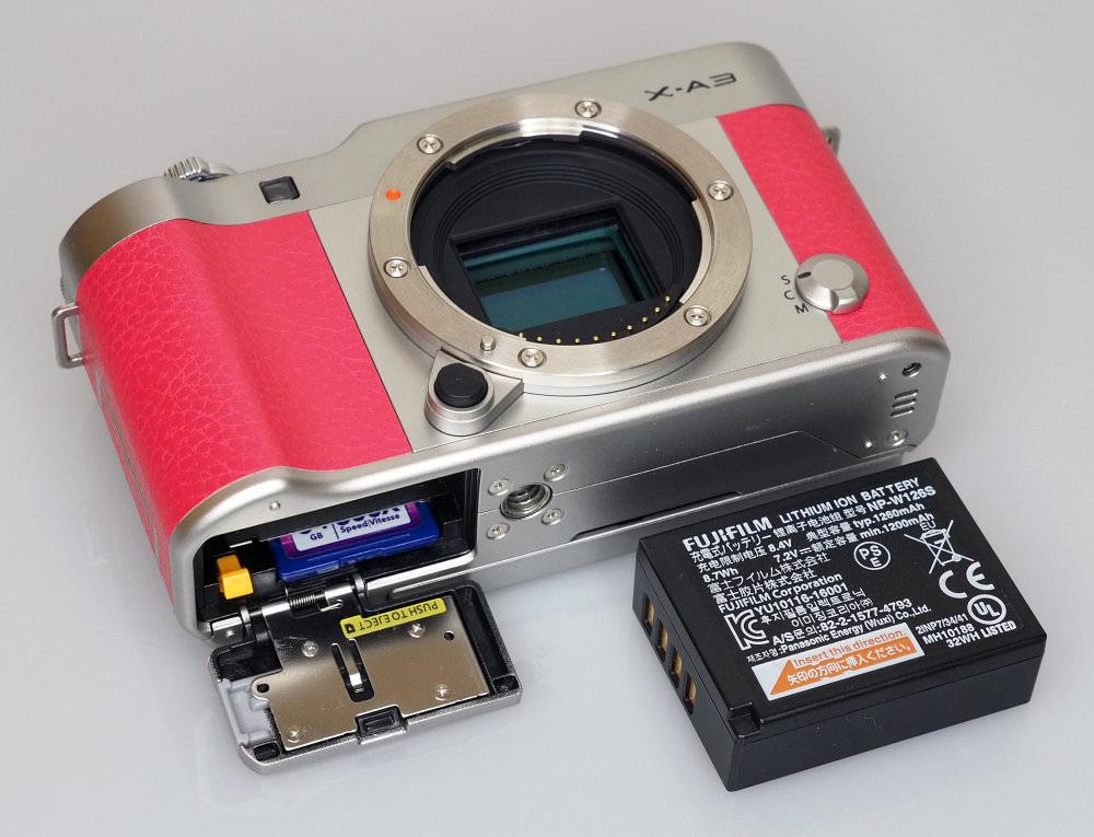Fujifilm X A3 Pink (11)