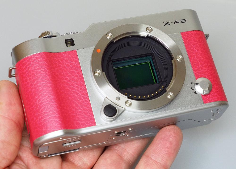 Fujifilm X A3 Pink (3)