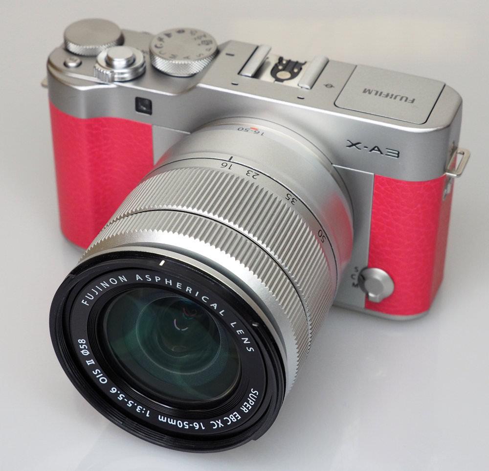 Fujifilm X A3 Pink (4)