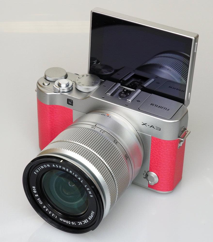 Fujifilm X A3 Pink (8)