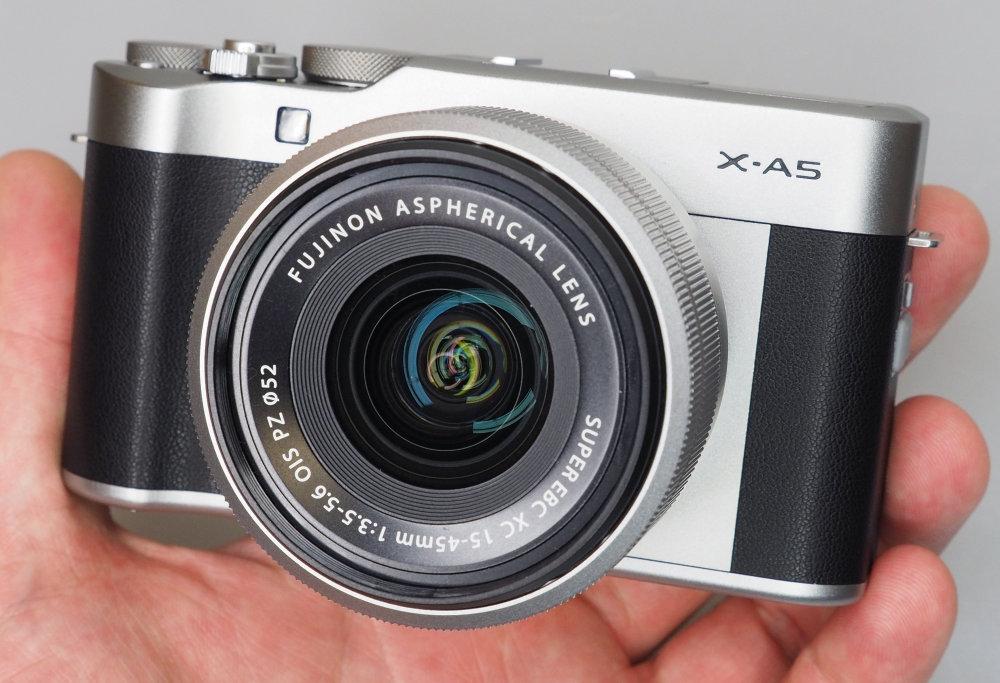 Fujifilm X A5 Silver (15)