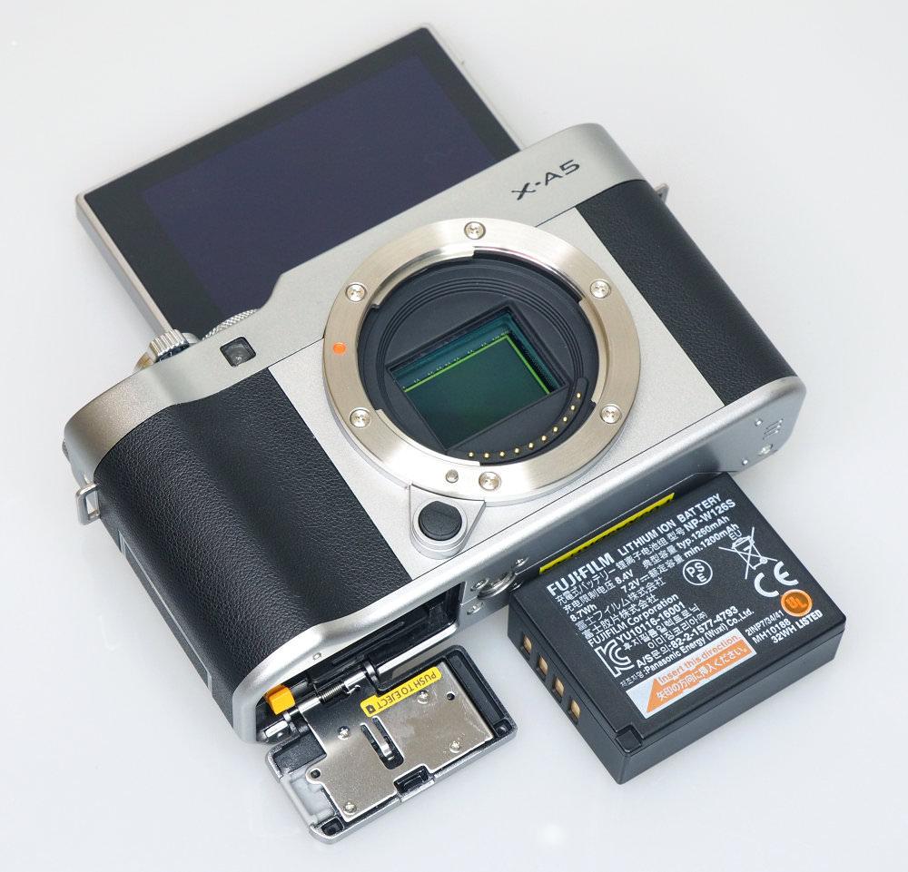 Fujifilm X A5 Silver (10)