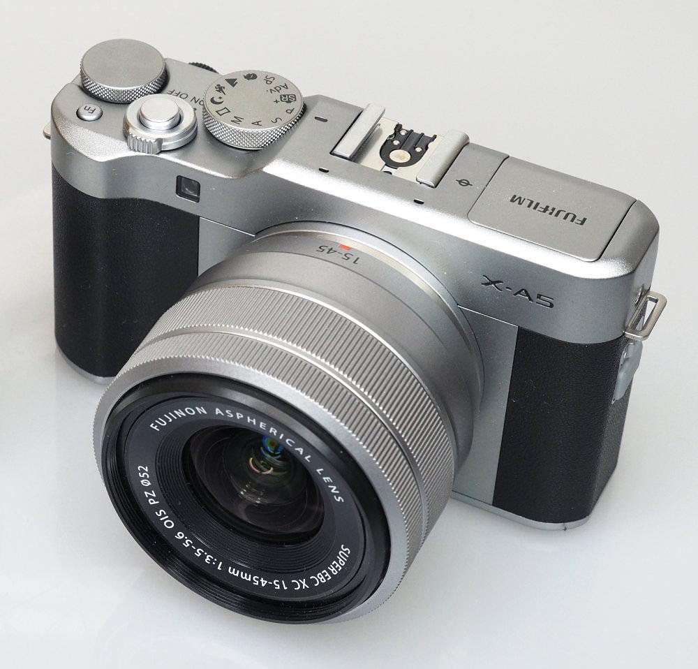 Fujifilm X A5 Silver (2)