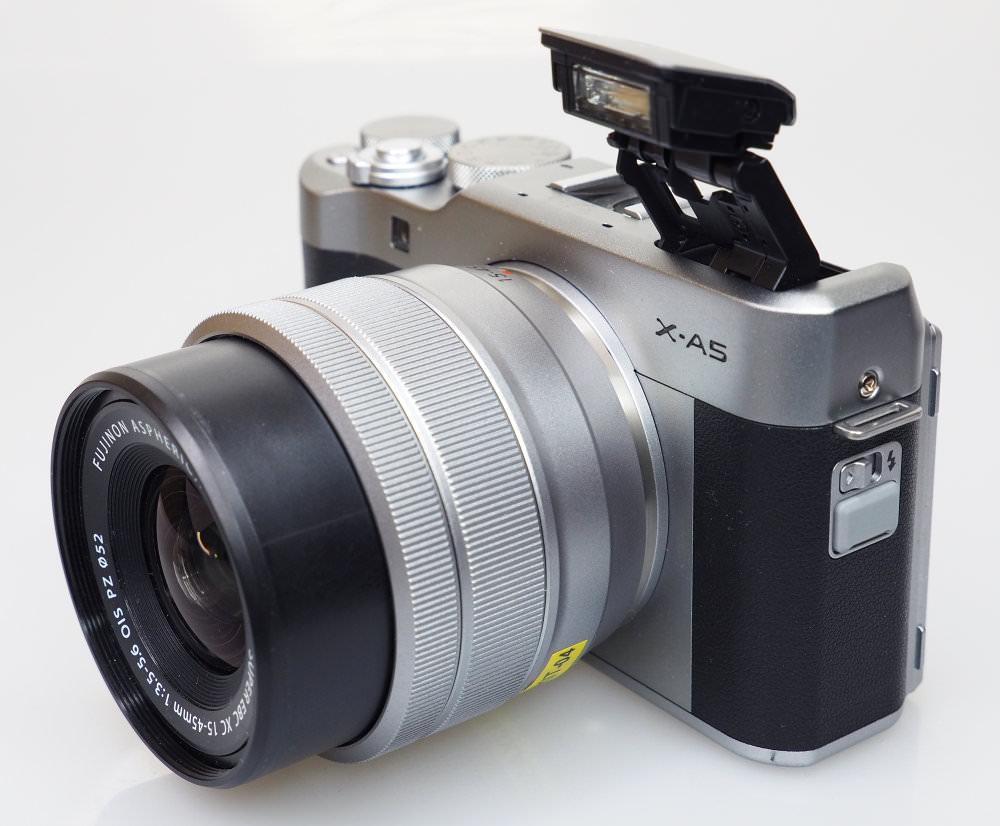 Fujifilm X A5 Silver (4)