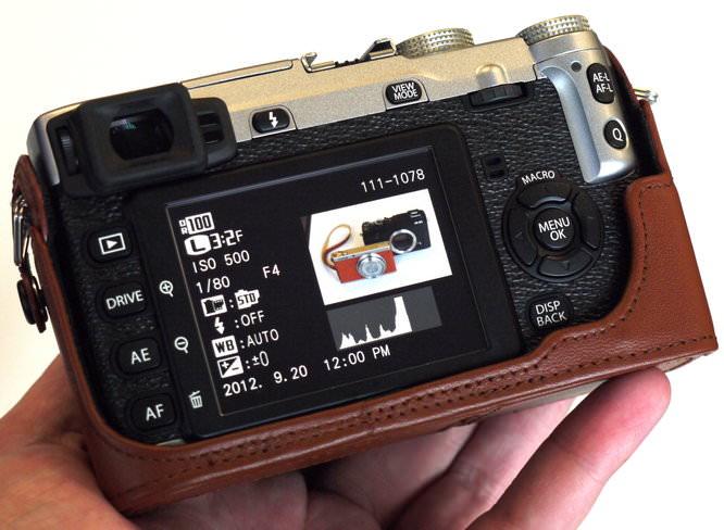 Fujifilm X E1 Hands On With Tan Case (16)