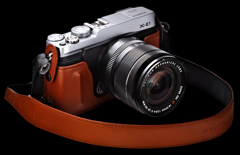 fujifilm x e1 premium interchangeable lens camera announced. Black Bedroom Furniture Sets. Home Design Ideas