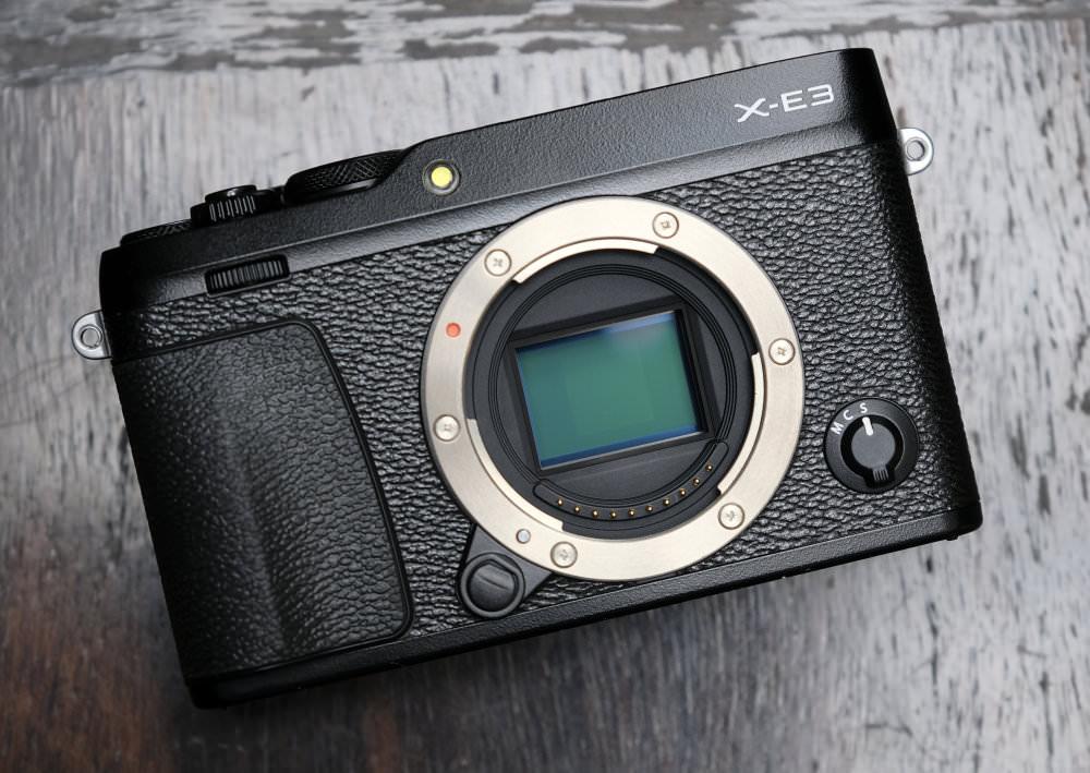 Fujifilm X E3 Black (2)