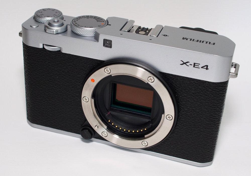 Fujifilm X E4 Silver (10)