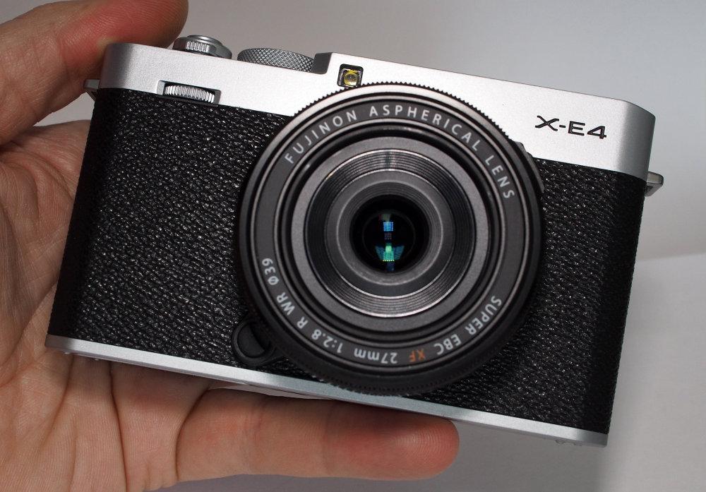 Fujifilm X E4 Silver (1)