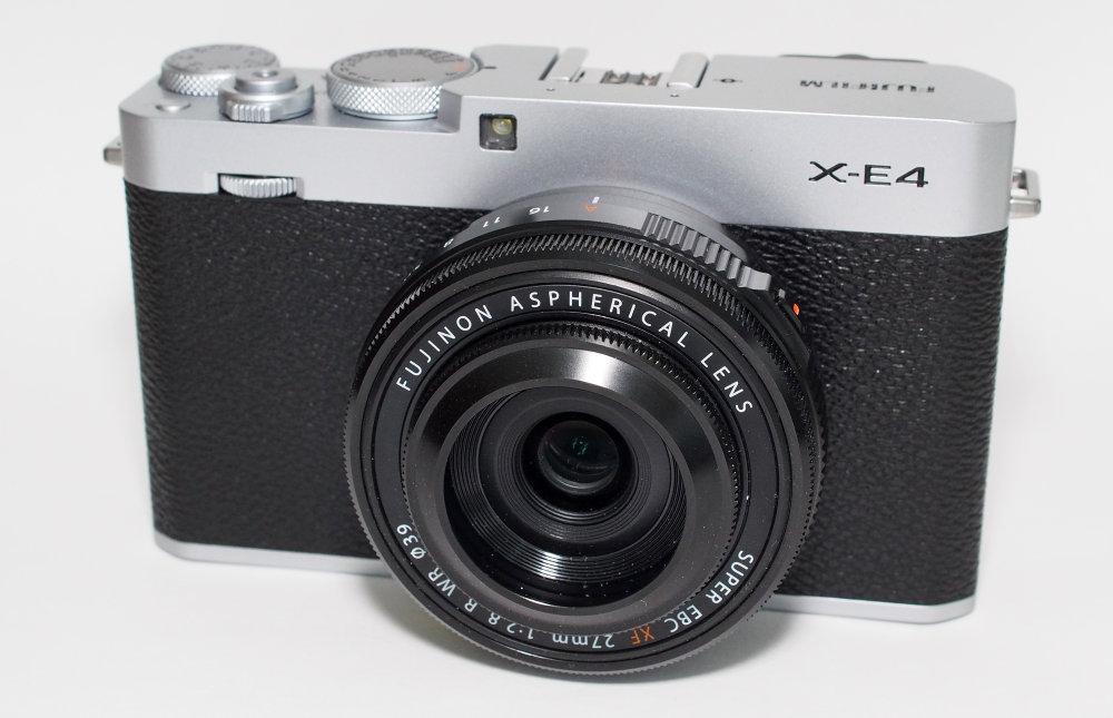 Fujifilm X E4 Silver (3)