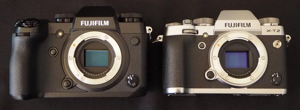 Fujifilm X H1 Vs X T2 (1)