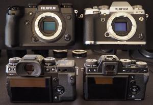 Fujifilm X-H1 Vs Fujifilm X-T2 Comparison