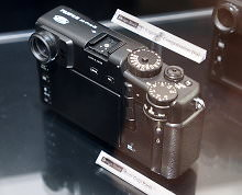 Fujifilm X Pro 2 Design Study Prototypes Curved Top Rear