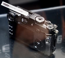 Fujifilm X Pro 2 Design Study Prototypes First Rear