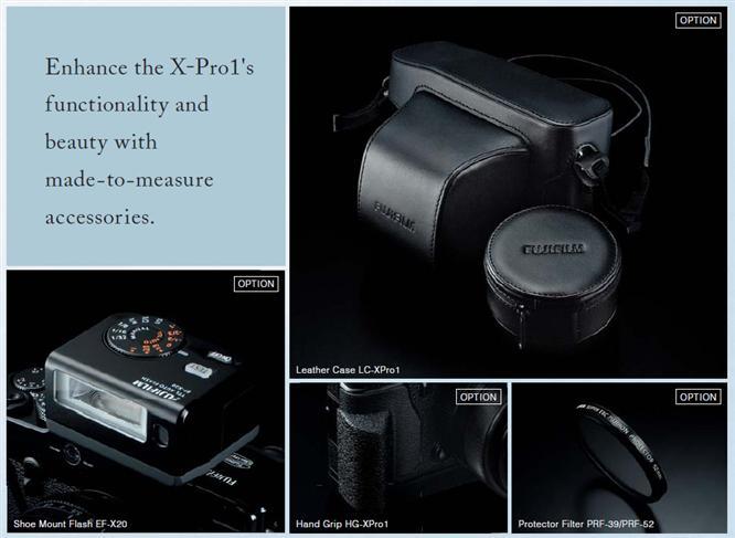 X-Pro1 Accessories