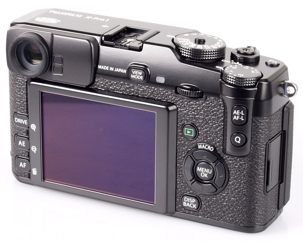 Fujifilm X-Pro1 Rear Angle