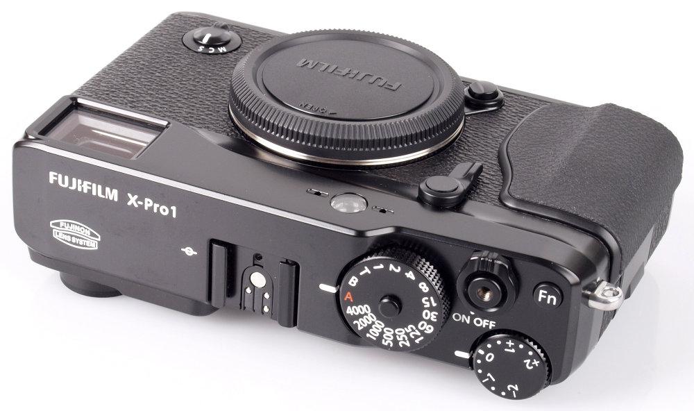 Fujifilm X-Pro1 Top