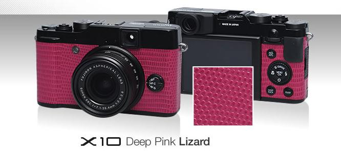 Fujifilm X10 Pink