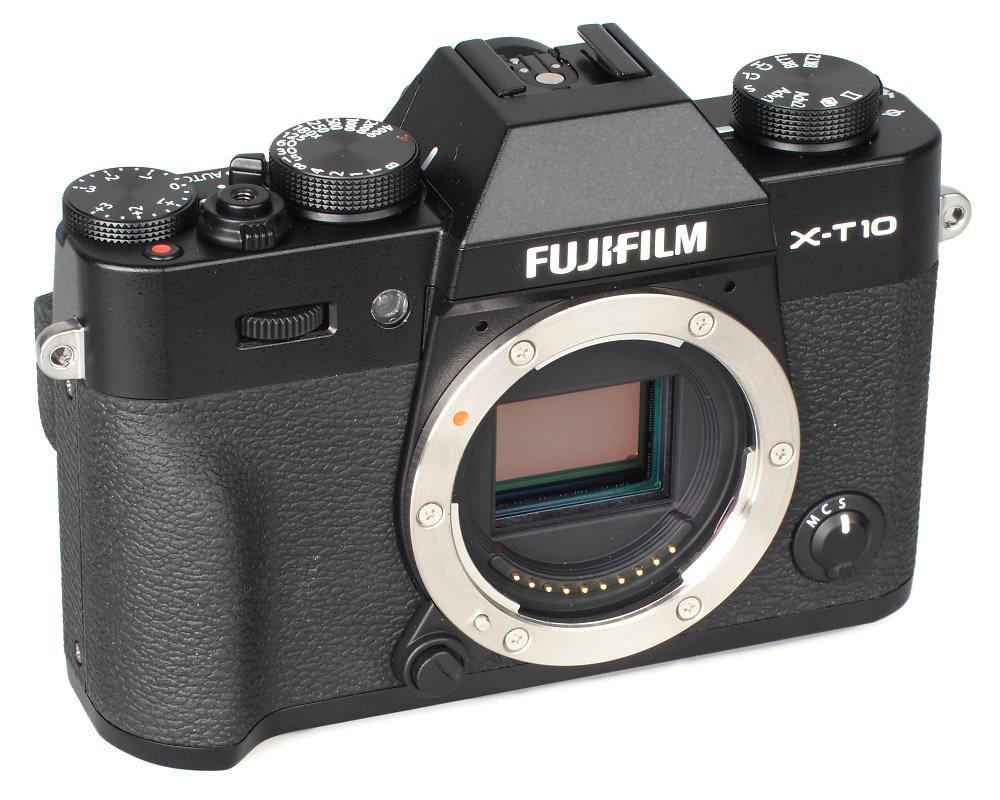 Fujifilm X T10 Black (3)
