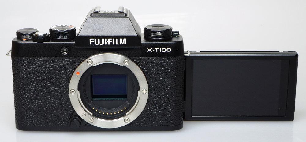 Fujifilm X T100 Black (10)