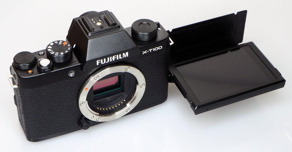 Fujifilm X T100 Black (11)