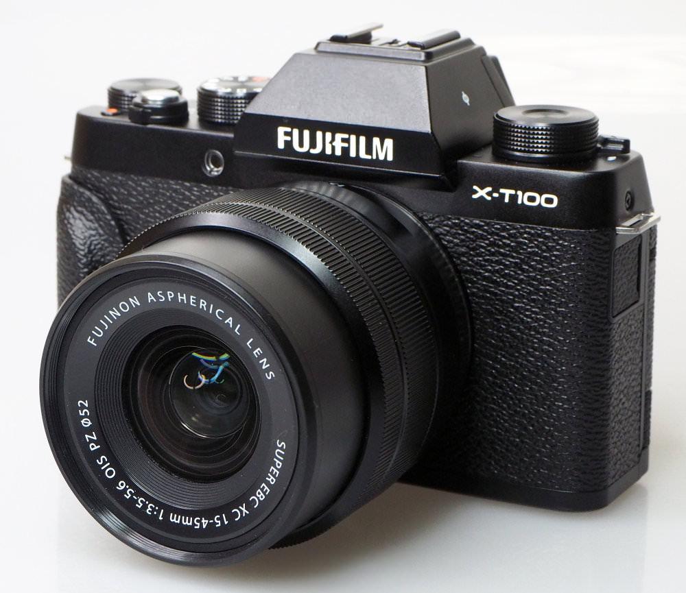 Fujifilm X T100 Black (1)