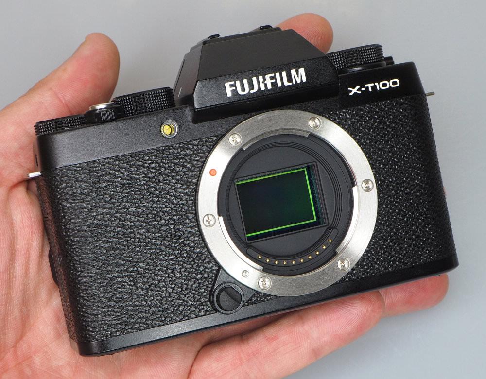 Fujifilm X T100 Black (4)