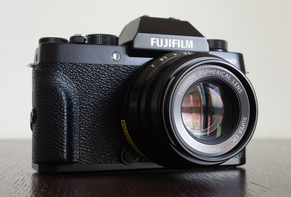 Fujifilm X T100 With 35mm F2