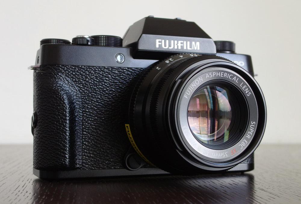 Fujifilm X T100 With 35mm F2