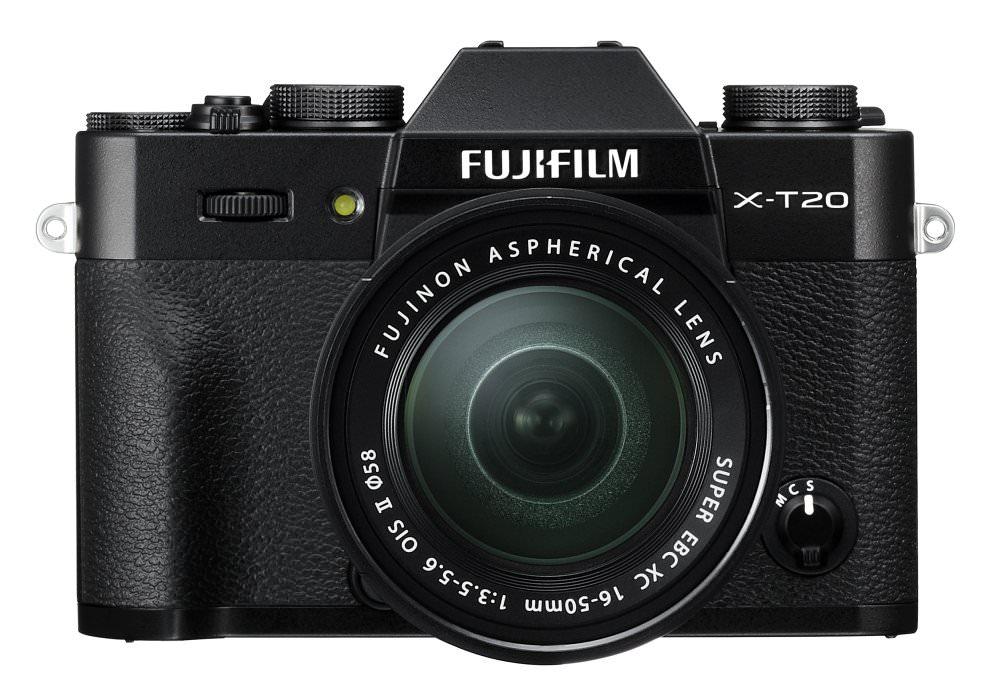 X T20 Black Front+XC16 50mm