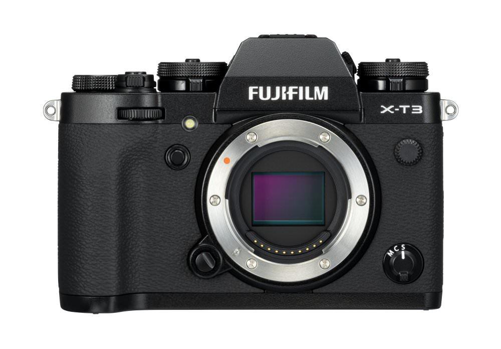 X T3 Black Front