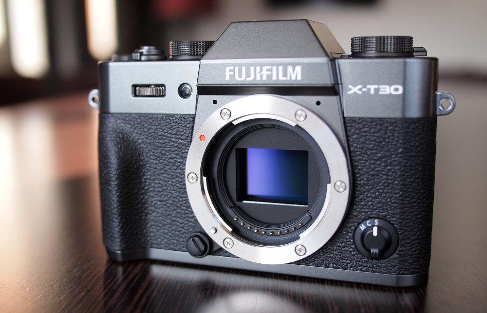 Fujifilm X T30 Graphite Silver (8)