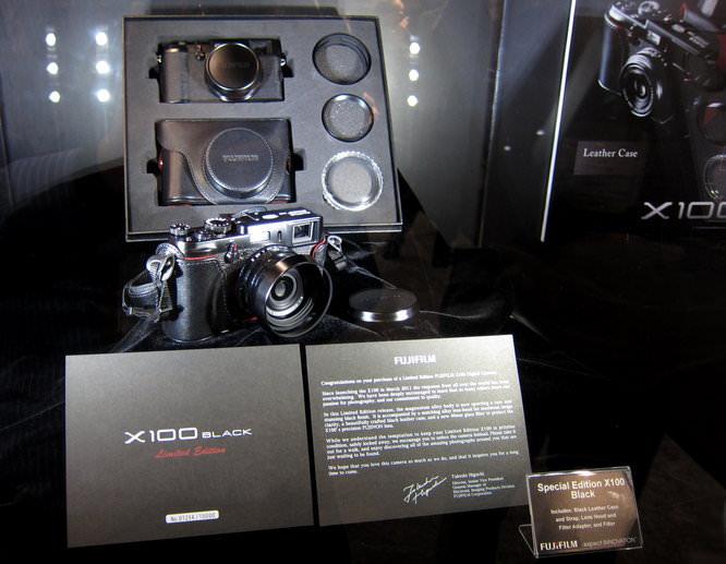 Fujifilm X100 Black Limited Edition