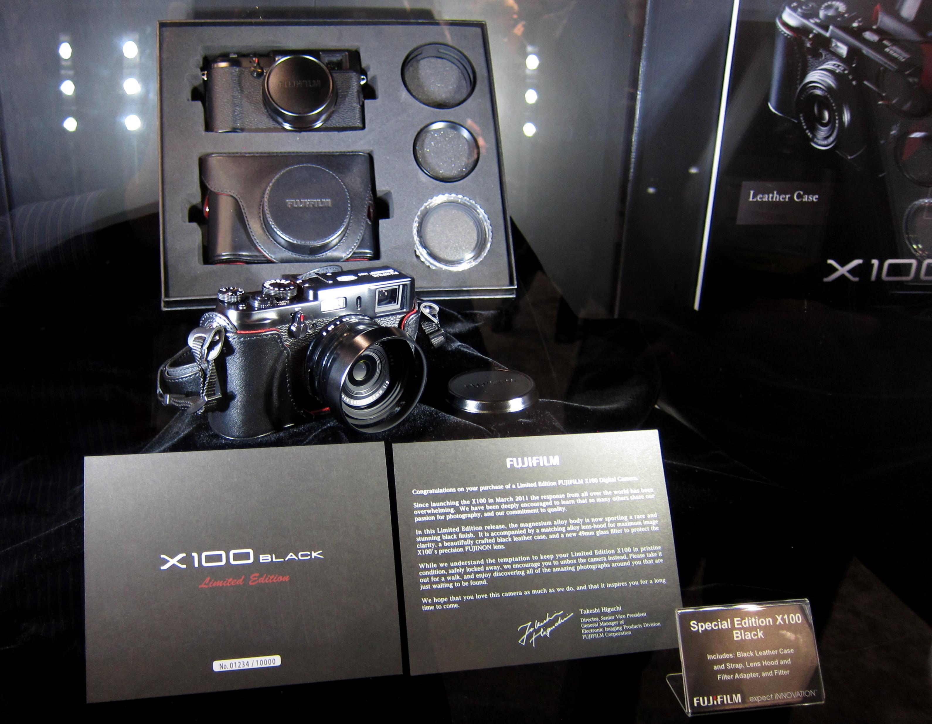 Fujifilm X100 Black Limited Edition | ePHOTOzine