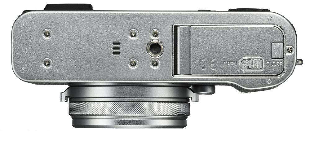 X100F Silver Bottom