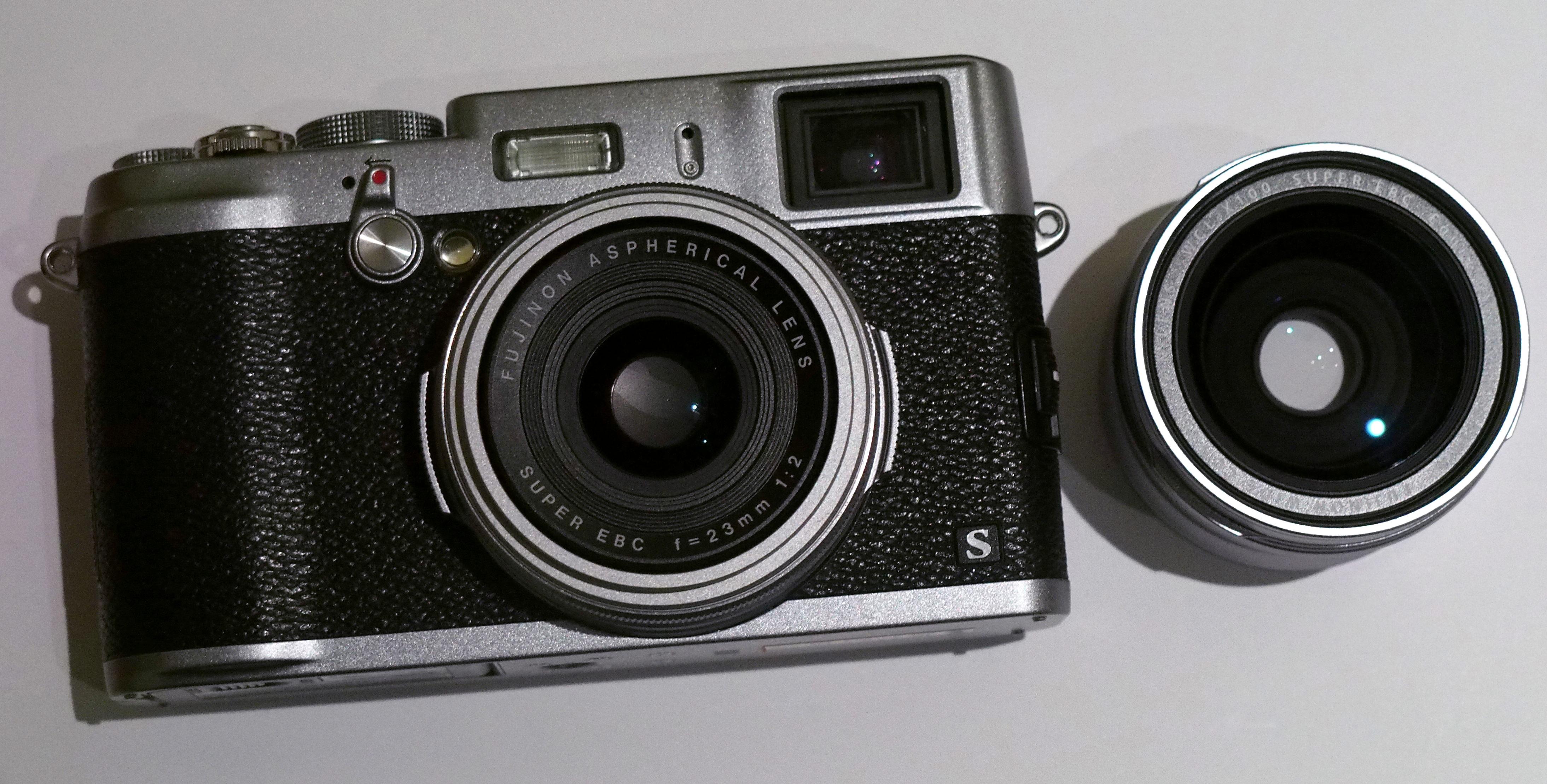 富士x100富士x100s_Fujifilm X100s WCL-X100 Wide Angle Converter Preview   ePHOTOzine