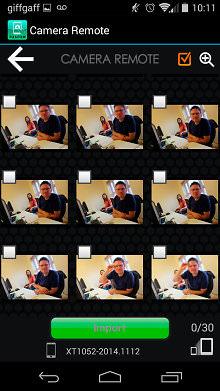 Fujifilm X100t Camera Remote Playback