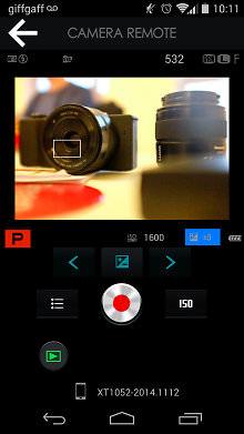 Fujifilm X100t Camera Remote Shooting