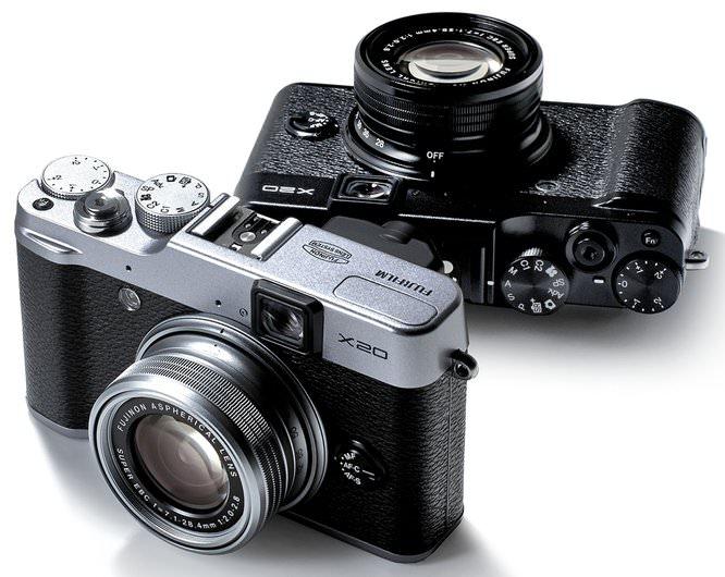 Fujifilm X20 Colours