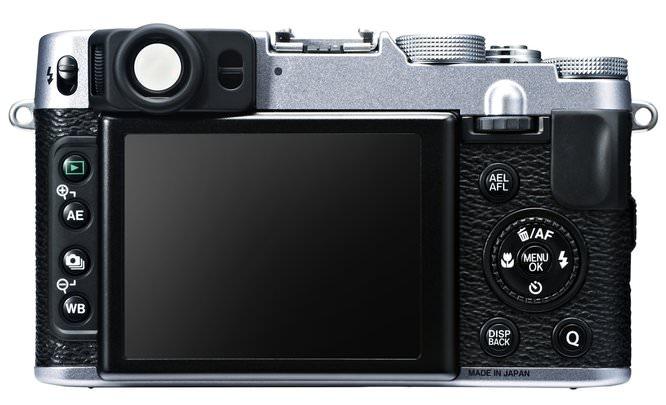 Fujifilm X20 Rear